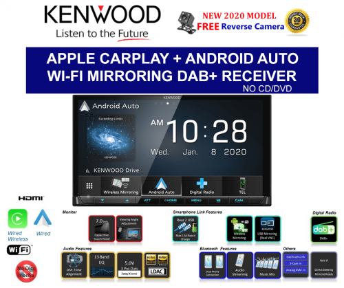 Kenwood DMX8520DABS (Replaces DMX8019DABS)