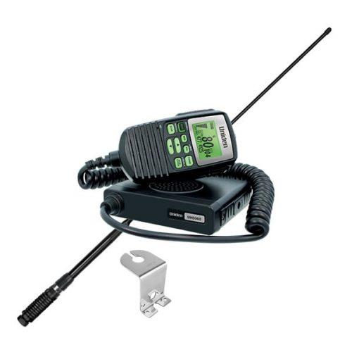 UNIDEN UH5060VP MINI COMPACT UHF REMOTE SPEAKER MIC VALUE PACK