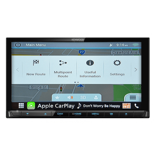 PPA-01-PREMIUM NAVIGATION WITH HEMA 4WD NAV FOR KENWOOD DDX-DMX MODELS - NAV-KEN-P1H
