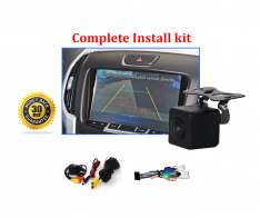 Reverse Camera Kit Integration to suit Isuzu MU-X OEM Factory Screen 2013 to 2019