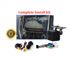 Reverse Camera Kit to suit Subaru XV (GJ-GP) OEM Factory Screen 2017 to 2019