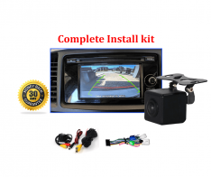 Reverse Camera NTSC Kit to suit Mitsubishi Lancer OEM Factory Screen 2013 to 2017