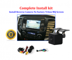 Reverse Camera NTSC Kit to suit Mitsubishi Triton MQ OEM Factory Screen 2016 to 2019