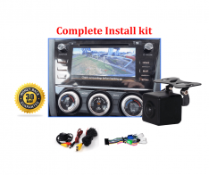 Reverse Camera NTSC Kit to suit Subaru Forester SJ OEM Factory Screen 2015 to 2018