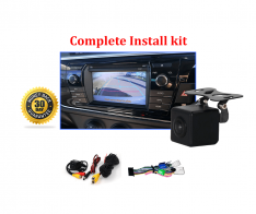 Reverse Camera NTSC Kit to suit Toyota Corolla Sedan OEM Factory Screen 2013 to 2016
