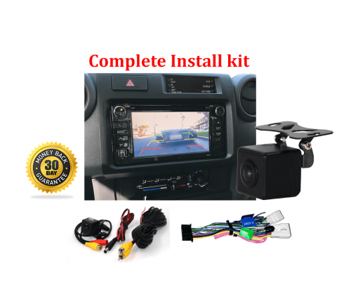 Reverse Camera NTSC Kit to suit Toyota Landcruiser VDJ79R 70 79 Series Factory Screen