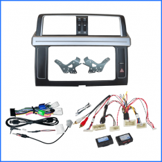 Head Unit Installation Kit To Suit Toyota Landcruiser Prado 2013-2017 150 Series-Amp